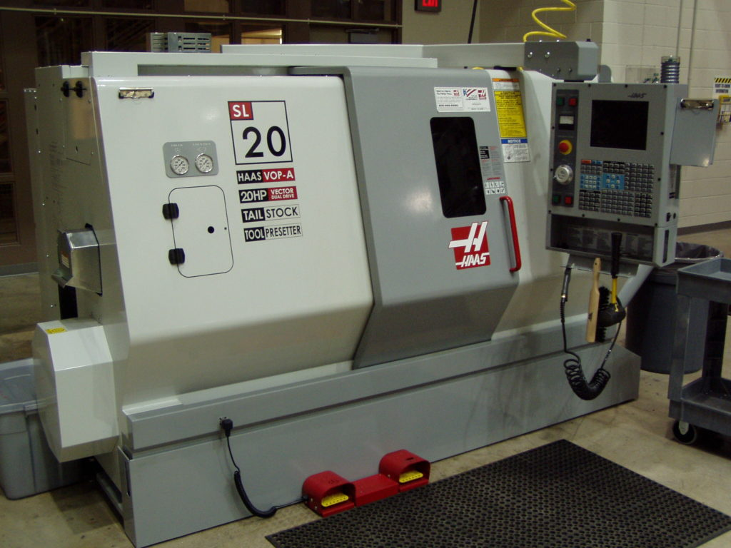 Small CNC Turning Center